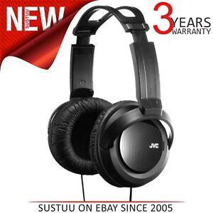JVC-HARX330-Full-Size-Over-Ear-Stereo-Headphone-Deep-Bass-2-5m-Cord-For-DJ-Black