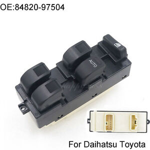 new electric master power window switch for daihatsu terios toyota Universal Power Window Switch image is loading new electric master power window switch for daihatsu
