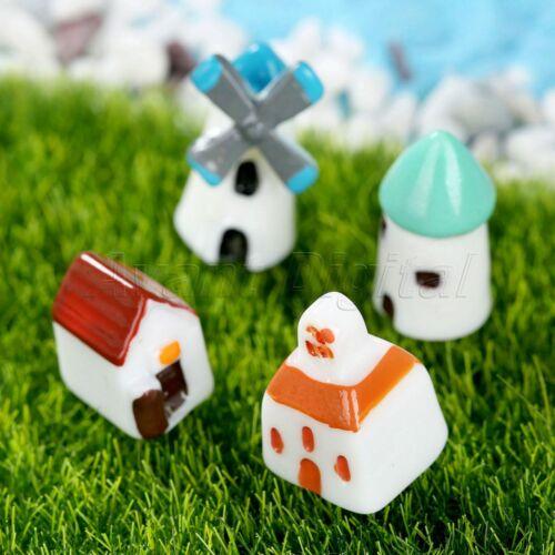 Micro House Fairy Dollhouse Landscape 20pcs//set Miniature Bonsai Garden Ornament