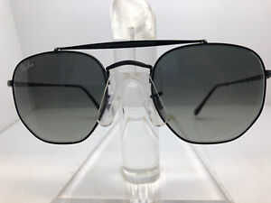 AUTHENTIC RAY BAN SUNGLASSES RB 3648 002 71 BLACK GREY GRADIENT LENS ... d2fa119add