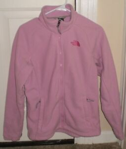 1173fc025 Details about The North Face Womens Breast Cancer Awareness Pink Ribbon  Fleece Jacket size M