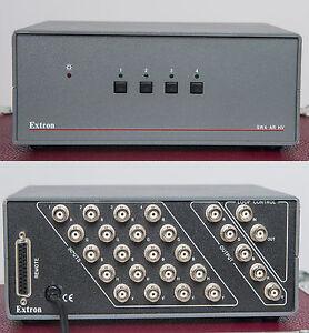 Extron-RGB-HV-Umschalter-4-fach