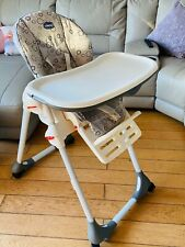 NEW CHICCO SUNRISE POLLY EASY BABY FEEDING HEIGHT ADJUSTABLE RECLINING HIGHCHAIR