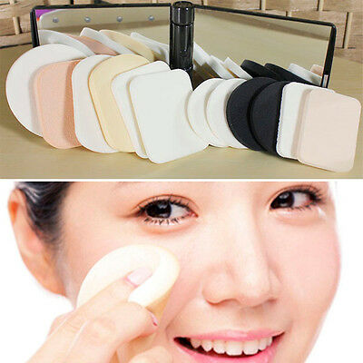 12PCS Lady Beauty Makeup Foundation Cosmetic Facial Face Soft Sponge Powder Puff