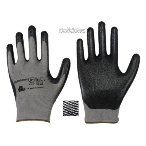 Solidstar 1429 Nylon Feinstrick Nitril Microschaum Montagehandschuhe Arbeitshand