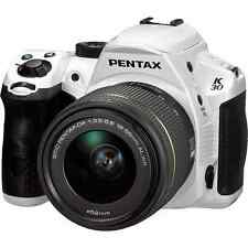 Pentax K-30 16.3 MP Digital SLR Camera - White (Kit w/ DA L 18-55mm Lens)