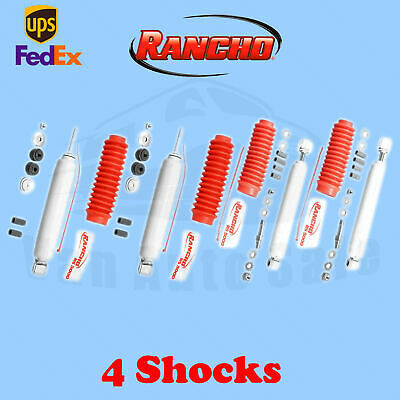 """93-98 Toyota T100 Pickup 4WD 0-1/"""" Lift RS5000X Rancho Front Shocks"""