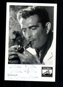 Camillo Autogrammkarte Original Signiert ## BC 15535 - Niederlauer, Deutschland - Camillo Autogrammkarte Original Signiert ## BC 15535 - Niederlauer, Deutschland