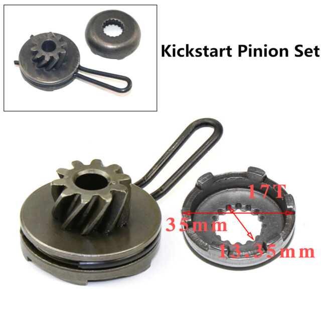 perfk Kick Start Pinion Gear for Yamaha Aerox Neos JOG Malaguti F10 F12 F15 50cc