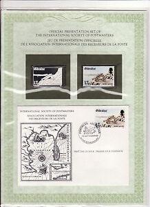enveloppe-timbre-neuf-et-argent-association-receveurs-de-la-poste-Gibraltar