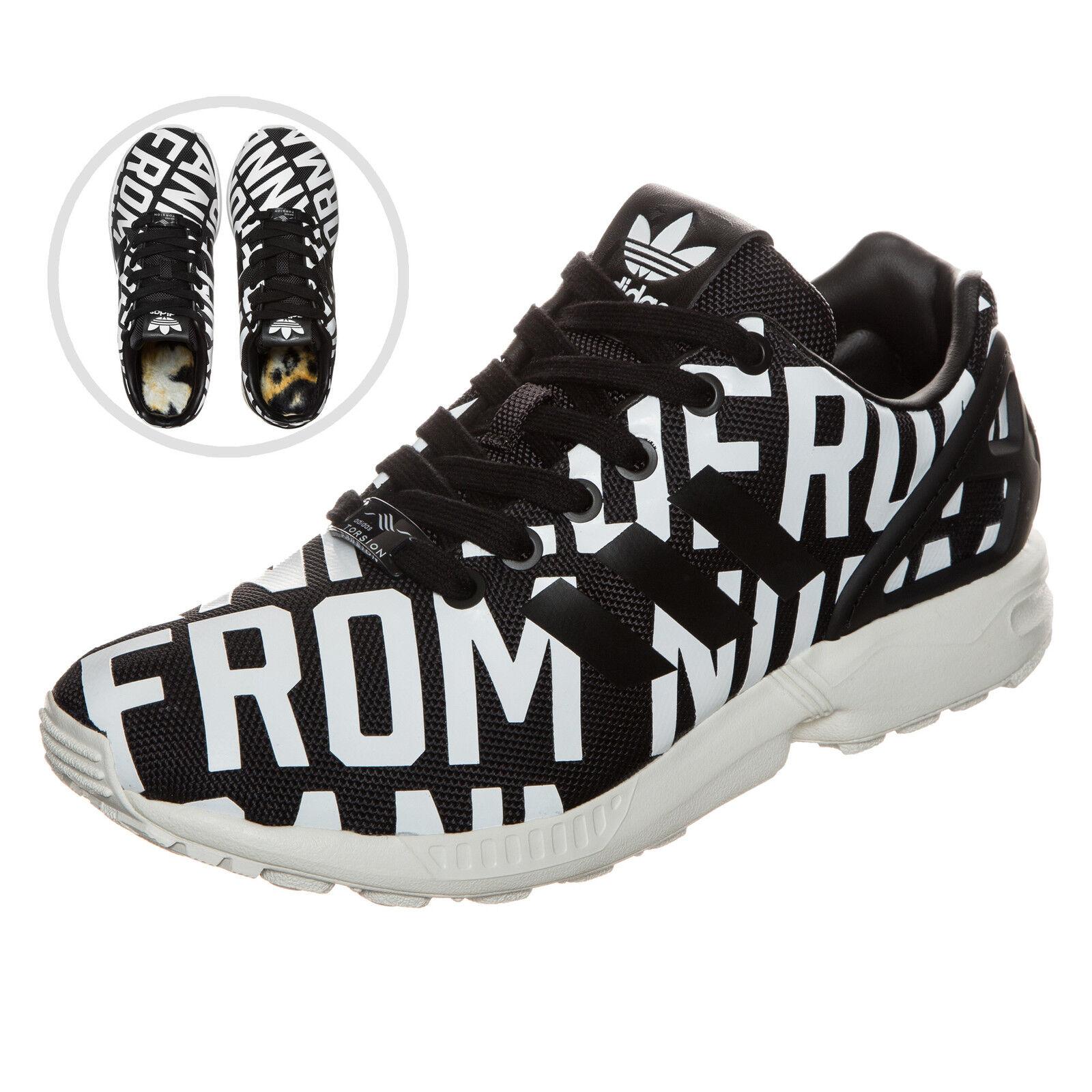 Adidas Originals Rita Ora ZX Flux Turnschuhe Damen Schwarz NEU Schuhe Turnschuhe    Ausgang