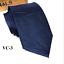Classic-Red-Black-Blue-Mens-Tie-Paisley-Stripe-Silk-Necktie-Set-Wedding-Jacquard thumbnail 14