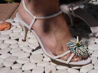 EMILIO PUCCI SHOES sandals heels pumps WHITE
