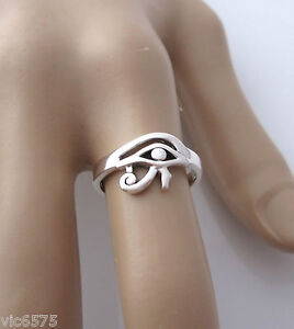 925-sterling-silver-Egyptian-EYE-of-RA-HORUS-ring