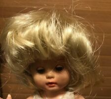 """PLAYHOUSE Doll Wig Style /""""SUZIE/"""" In Size 14-15 Color Black NOS"""