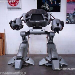 ROBOCOP-2-FULL-SIZE-10-FOOT-ROBOT-MODEL-ED-209-PNEUMATIC-CYLINDER-LEGS
