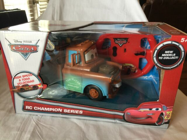 Disney Cars 6 Inch Tow Mater Truck Ages 4 Radio Remote Control Car RC IR Toy