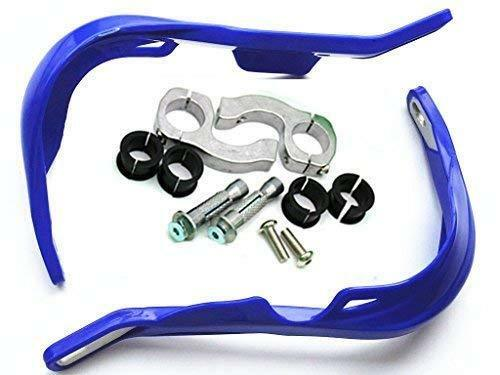 "Blue 28mm Fat Bar Brush Hand Guards Raptor 1 1//8/"" Kit PRO TAPER Dirt Bike Endure"