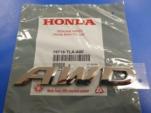 Genuine honda crv AWD insignia del portón trasero