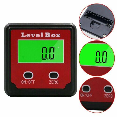 Digital Angle Gauge Inclinometer Gauge Accurate Measuring Level Box Angle Meter