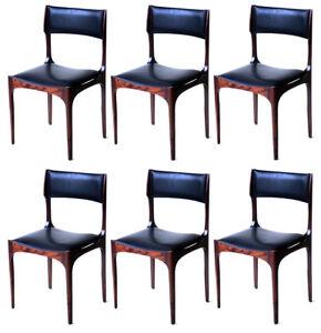 Group of six Giuseppe Gibelli chairs for Sormani italian design 60s ...