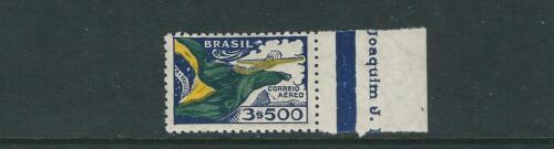 BRAZIL 1933 FLAG and AIRPLANE (Scott C31) F/VF MLH