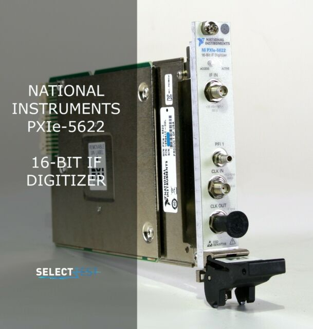 NATIONAL INSTRUMENTS (NI) PXIe-5622 16 BIT IF DIGITIZER **LOOK** (REF.: FEAG)