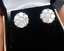 Steal-Deal-2-10ctw-Genuine-Cluster-Round-Diamond-Stud-Earring-in-14K-Gold-10MM thumbnail 2