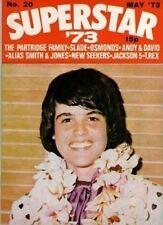 Donny Osmond on Superstar Magazine No.20 Cover 1973  Jackson Five  David Cassidy