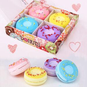 Image Is Loading 4pcs Rainbow DONUTS Lush Bubble Bath Bombs Handmade