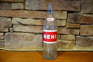 Vintage-60-039-s-Nehi-Glass-Soda-Pop-Bottle-12oz