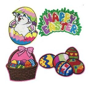 Easter-iron-on-patch-easter-bunny-egg-happy-Easter-hat-eggs-iron-on-patches
