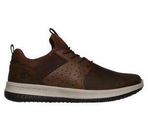 Delson Axton De Piel Zapatillas Elástico Viscoelástica Zapatos Espuma Skechers wgqd1pnw
