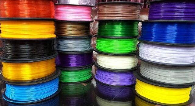 5 x 10 mtr  Stereoscopic ABS Print Filament For 3 D Drawing Printer Pen UK STOCK
