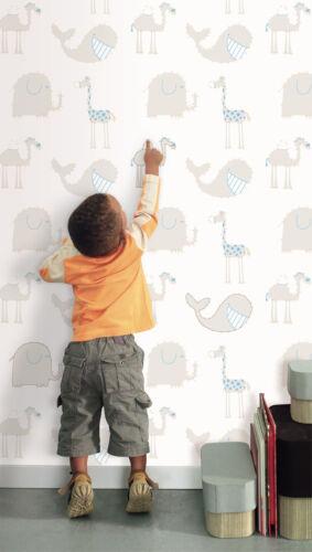 Kids Childrens Dot 2 Dot Animal Wallpaper