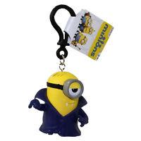 Minions Movie - Pvc Figurine Backpack Clip - Vampire Stuart (2 Inch) -