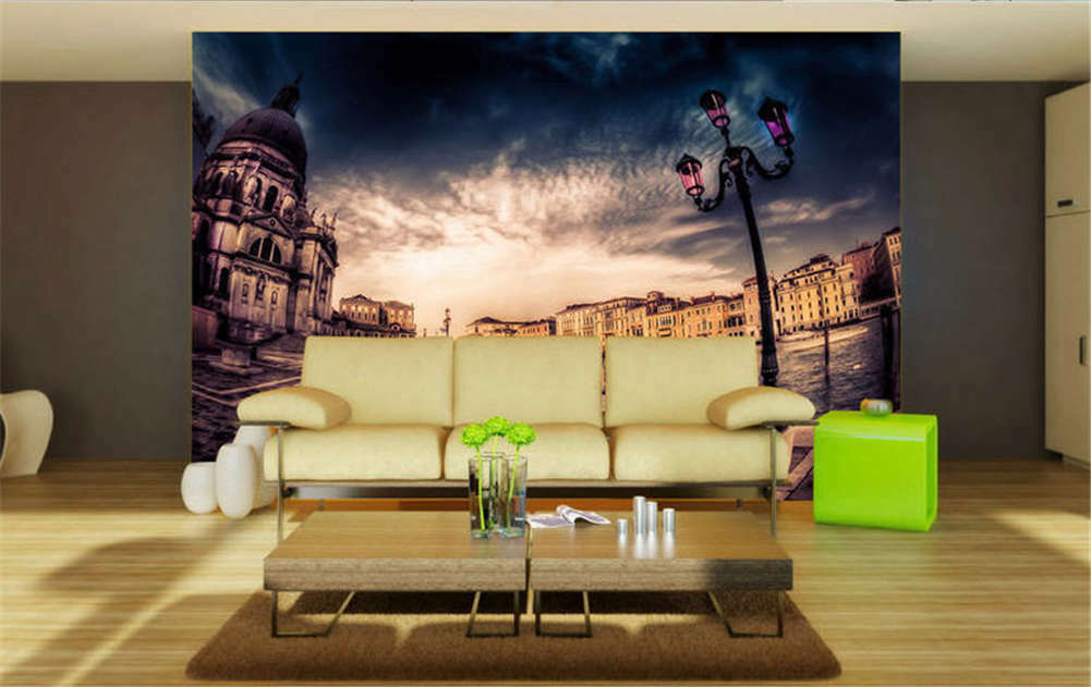 Dark Continuous Sky 3D Full Wall Mural Photo Wallpaper Printing Home Kids Decor