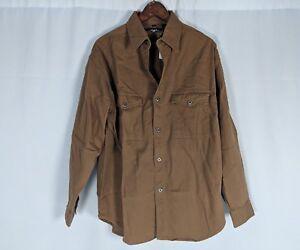 NWT-Mens-Harley-Davidson-Embroidered-Denim-Long-Sleeve-Button-Up-Shirt-Medium