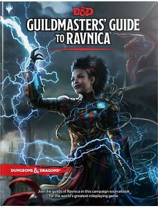 Dungeon-amp-Dragons-D-amp-D-5th-Edition-Guildmaster-039-s-Guide-to-Ravnica-MTG-RPG
