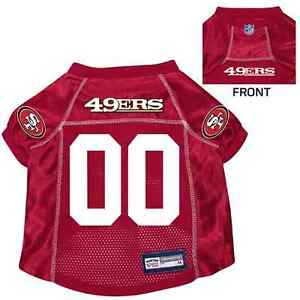 NEW-SAN-FRANCISCO-49ERS-PET-DOG-PREMIUM-NFL-JERSEY-w-NAME-TAG-ALL-SIZES