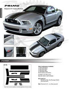 For-FORD-MUSTANG-ALL-MODELS-Graphics-Kit-Decals-Stripes-1786-Emblems-2013-2014