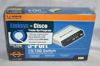 Linksys Model Sd205 5-port 10/100 Switch In Box