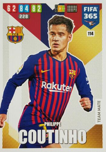 PANINI ADRENALYN XL FIFA 365 2020 Atletico Madrid FC Barcelone Real Madrid cartes