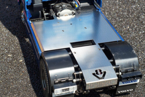 V8 complete 1//14 plate for tamiya 4x2 chassis truck-stainless steel various 5