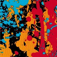 Hydrographic Film Water Transfer Hydrodipping Hydro Dip Paint Splatter 1m