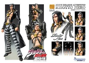 Risotto Nero action figure JOJO Super Action Statue MEDICOS 160mm Anime JAPAN