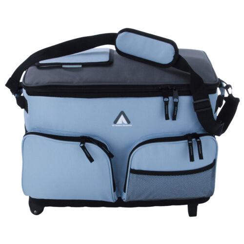 Sac Fridgo 50L sac de refroidissement passif et thermique coolbox avec roulettes