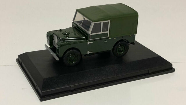 "Oxford Diecast Land Rover Series I 88"" 'Plimsoll' 1957 - 1/43 Scale"
