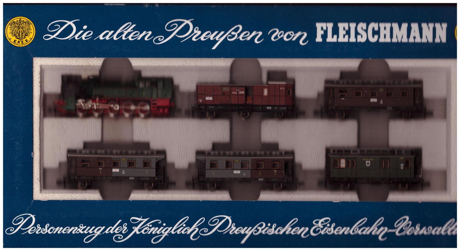 Fleischmann N 7881  Personenzug der Königlich Preußischen Eisenbahn-Verwaltung