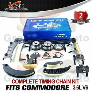 TIMING-CHAIN-KIT-amp-GEARS-FITS-HOLDEN-COMMODORE-VZ-VE-VF-V6-3-6L-3-0L-GREATDEAL